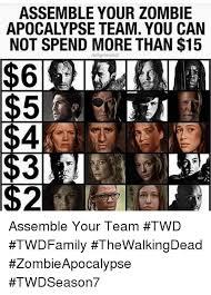 Zombie Team Meme - 25 best memes about zombie apocalypse team zombie apocalypse
