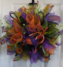 halloween deco mesh wreath u2022 wreaths garland centerpieces