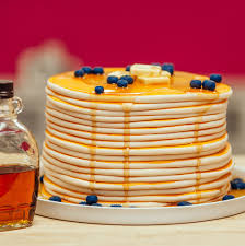 blueberry pancake cake how to cake it