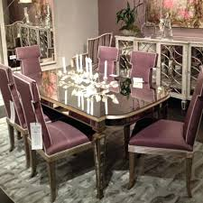 dining table delightful design mirrored dining table strikingly