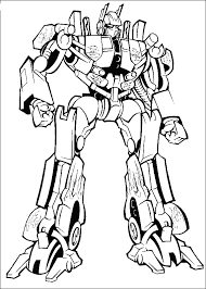 printable coloring pages transformers superheroes