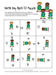 halloween brain teasers printable earth day math fun fun games 4 learning