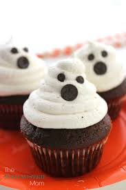 ghost cupcakes the exhausted mom
