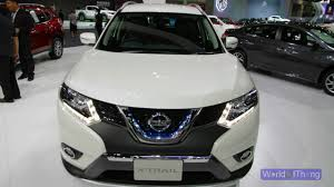 nissan accessories for x trail 2017 nissan x trail hybrid 2016 thai motor expo youtube