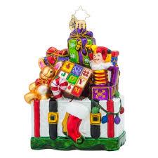 christopher radko ornaments radko treasures for tots packages