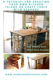 Diy Kitchen Table Ideas by Best 20 Kitchen Island Table Ideas On Pinterest Kitchen Dining