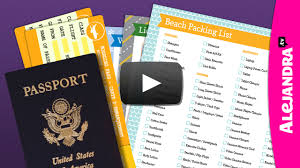 travel docs images Video how to pack travel documents jpg