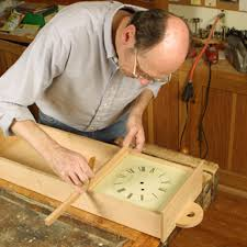 Free Wooden Clock Movement Plans by Free Plan Shaker Wall Clock Finewoodworking