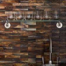 copper backsplash tiles for kitchen shimmery copper backsplash tiles design ideas