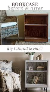 Nightstand Bookshelf Thrift Store Bookcase Nightstand Makeover Tutorial Night Stand
