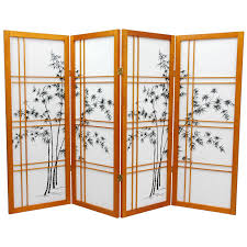 privacy screen room divider oriental furniture 48 inch low cherry blossom shoji screen room