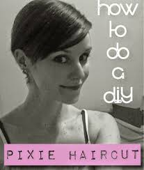 diy pixie cut u2013 how i cut my hair off u2013 paper doll