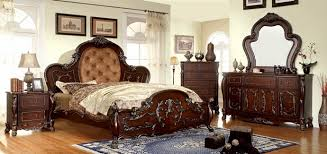 Pc Castlewood Collection - Tufted headboard bedroom sets