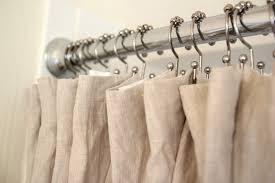 Restoration Hardware Shower Curtains Designs Linen Shower U Curtain Design Pict Of