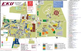 Student Map Login Construction Parking Map Parking Eastern Kentucky University
