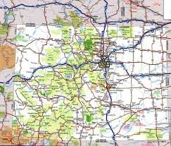 Map Od Road Map Of Coloradofree Maps Of Us