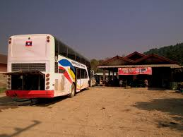 file bus journey luang prabang to vientiane lunch stop pamy