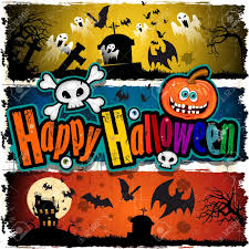 halloween banner cartoon u2013 festival collections
