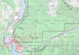 Topo Map Topo Map Mount Revelstoke Eva Lake Miller Lake And Jade Lakes