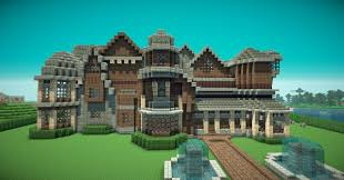 minecraft how to build a mansion estate buildings information