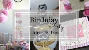 Birthday Party Ideas Not At Home Birthday Party Ideas U0026 Tips Youtube