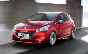 peugeot 208 gti blue peugeot 208 gti concept headed to 2012 geneva motor show