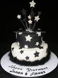 black u0026 white birthday cake a photo on flickriver