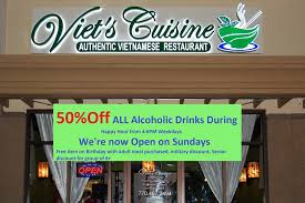 discount cuisine viet s cuisine home peachtree city menu prices