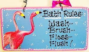 Flamingo Bathroom Flamingo Collection On Ebay