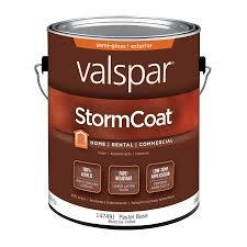shop valspar stormcoat semi gloss latex exterior paint actual net