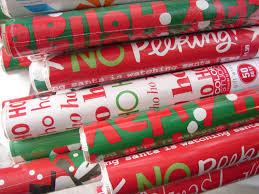 rolls of wrapping paper gift wrapping kit gift idea