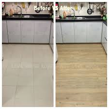 buy floor reform sheet self adhesive wallpaper home decoration