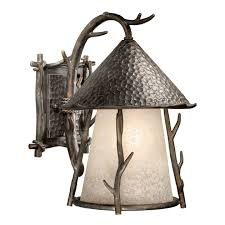 rustic wall sconce lighting endearing rustic wall sconce lighting rustic ls 11 inch woodland