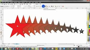 Corel Draw X4 Blend Tool | corel draw training video tutorials blend tool youtube