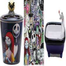 Heart Bathroom Accessories Nightmare Before Christmas Alice In Wonderland Beetlejuice Friday