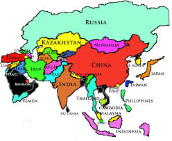 middle east map kazakhstan asia middle east history tour