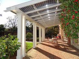Roof Panels For Patios Our Sun A Bright Alternative Pergolas Solar And Patios