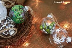 diy decorated glass ornaments