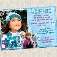 personalized frozen birthday invitations dhavalthakur