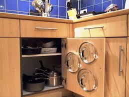 cabi door pot lid organizer pot lids holder on kitchen cabi
