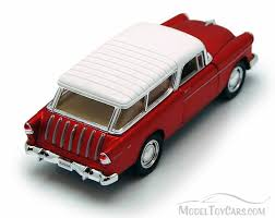 nomad car 1955 chevy nomad red kinsmart 5331 2d 1 32 scale diecast
