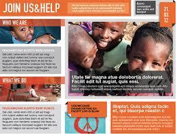 ngo brochure templates modern brochure design for non profit search graphic