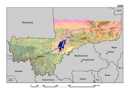 Sahel Desert Map Land Use Land Cover And Trends In Mali West Africa