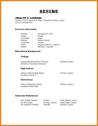 How To List References On Your Resume 10 Resume References Template Applicationsformat Info On 5 Saneme