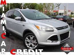 ford escape 2014 used ford escape titanium at miami car credit llc serving