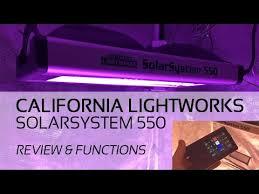 california led grow lights california lightworks solarsystem 550 led grow light review grow