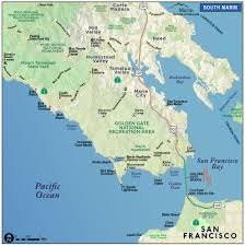 Map Of Napa Valley Map Of Marin U0026 Directions Maps U0026 Transportation Marin County