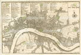 antique city plan of london 1700 wall mural map wallpaper antique city plan of london