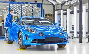 alpine a110 alpine a110 enters production at historic dieppe plant