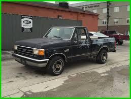 used ford work trucks for sale used 91 ford f150 xlt 5l v8 rwd work truck black gray cloth